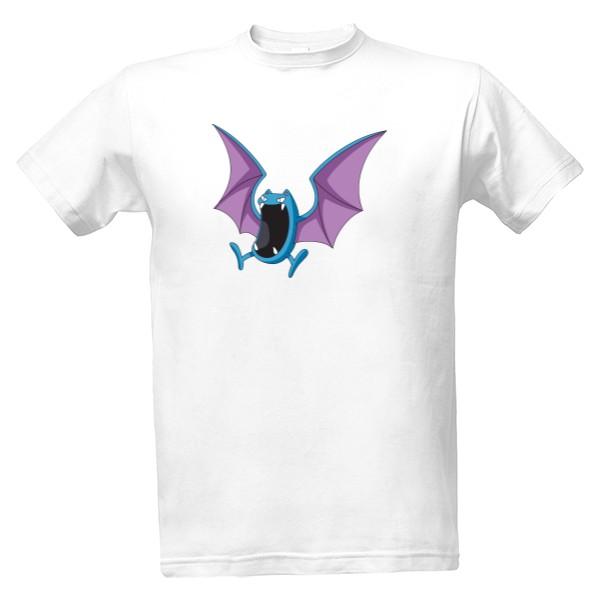 Tričko s potiskem Pokémon - netopýr  d30a321c7c